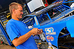 Aug 5, 2010; 3:37:07 PM; New Richmond, WI., USA; The 23rd Annual USA Nationals presented by U.S. Steel Corporation running a 50,000-to-win World of Outlaws Dirt Late Model Series sanctioned event at Cedar Lake Speedway.  Mandatory Credit: (thesportswire.net)