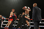 Oscar Negrete venció por DU (98-92, 98-92, 97-93) a Alberto Melián en Indio, California, ganó el título internacional peso gallo de la AMB.