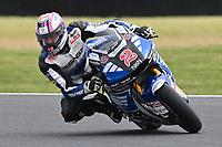 October 27, 2018: Jesko RAFFIN (SWI) riding the KALEX from the SAG Team during the Moto2 practice session three at the 2018 MotoGP of Australia at Phillip Island Grand Prix Circuit, Victoria, Australia. Photo Sydney Low