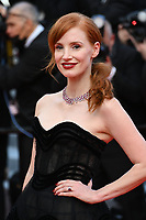 """CANNES, FRANCE. July 6, 2021: Jessica Chastain at the premiere of """"Annette"""" at the gala opening of the 74th Festival de Cannes.<br /> Picture: Paul Smith / Featureflash"""