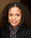 Jesmyn Ward , novelist and writer at Oxford Literary Festival  at Christchurch College, Oxford  2014 CREDIT Geraint Lewis