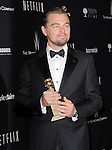 Leonardo DiCaprio<br /> <br /> <br />  attends THE WEINSTEIN COMPANY & NETFLIX 2014 GOLDEN GLOBES AFTER-PARTY held at The Beverly Hilton Hotel in Beverly Hills, California on January 12,2014                                                                               © 2014 Hollywood Press Agency