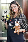 The Spanish actress Dafne Fernández has become one of the McDonald's team of employees, delivering orders to a McAuto in Madrid, with the aim of offering her support to the work of the Ronald McDonald Children's Foundation. November 19, 2020. (ALTERPHOTOS/Acero)
