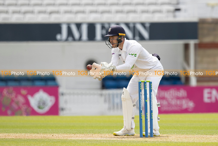 Lewis McManus of Hampshire CCC during Surrey CCC vs Hampshire CCC, LV Insurance County Championship Group 2 Cricket at the Kia Oval on 30th April 2021
