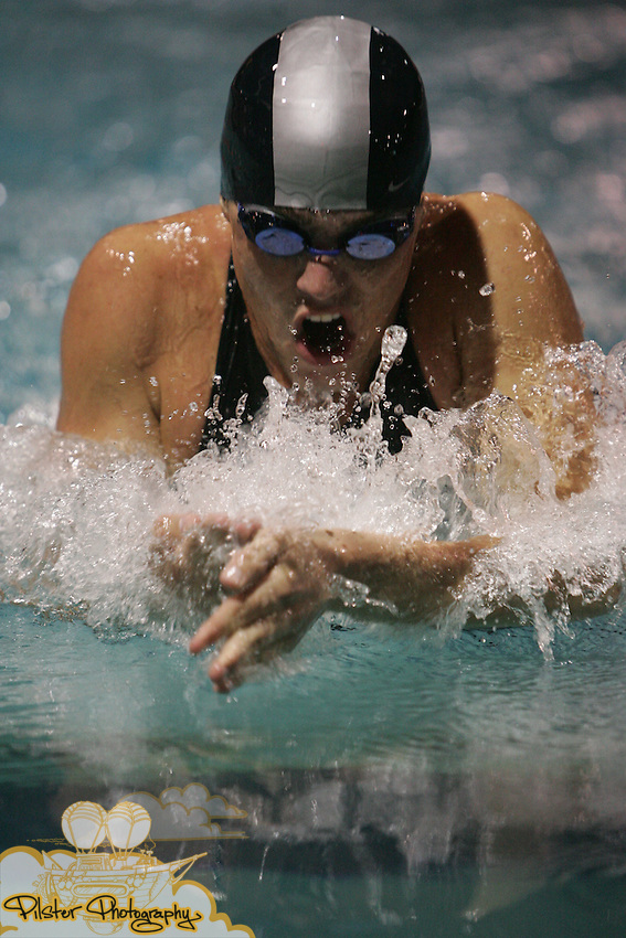South Fort Meyers Eric Mesuri swims the 100yd breaststroke on Friday, November 14, 2008, during the class 1A FHSAA Swimming Finals at the YMCA Aquatic Center in Orlando. Mesuri placed second with a time of 57.17. (Chad Pilster, PilsterPhotography.net)