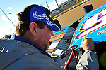 Mar 29, 2009; 10:08:37 AM; Concord, NC, USA; World of Outlaws Series race for the Circle K Colossal 100 at the Dirt Track Lowes Motor Speedway.  Mandatory Credit: (thesportswire.net)