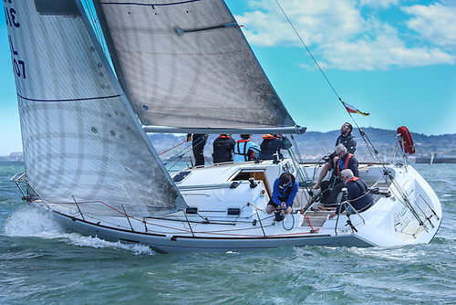The Dublin Bay based Beneteau 31.7 Levante. The class will race for national championships honours as part of VDLR 2021
