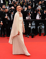 """CANNES, FRANCE. July 6, 2021: Maggie Gyllenhaal at the premiere of """"Annette"""" at the gala opening of the 74th Festival de Cannes.<br /> Picture: Paul Smith / Featureflash"""