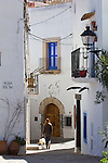 Malerische Altstadtgasse, Ibiza-Stadt, Eivissa, Ibiza