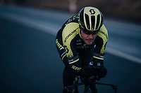 TT training for Matteo Trentin (ITA/Michelton-Scott)<br /> <br /> Michelton-Scott training camp in Almeria, Spain<br /> february 2018