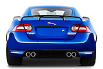 Straight rear view of a 2012 Jaguar XKR-S Coupe
