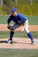 Jeremy Papelbon - Chicago Cubs - 2009 spring training.Photo by:  Bill Mitchell/Four Seam Images