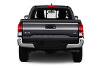 Straight rear view of a 2016 Toyota Tacoma SR5 Access Cab 4 Door Pick Up stock images