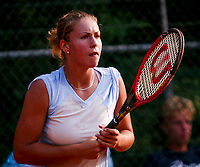 August 12, 2002, Netherlands, Dutch National Championships, NTK, Ede , Silvana Bauer (NED)<br /> Photo: Tennisimages/Henk Koster