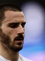 Calcio, Serie A: Roma, stadio Olimpico, 14 maggio 2017.<br /> Juventus' Leonardo Bonucci at the and of the Italian Serie A football match between AS Roma and Juventus at Rome's Olympic stadium, May 14, 2017.<br /> UPDATE IMAGES PRESS/Isabella Bonotto