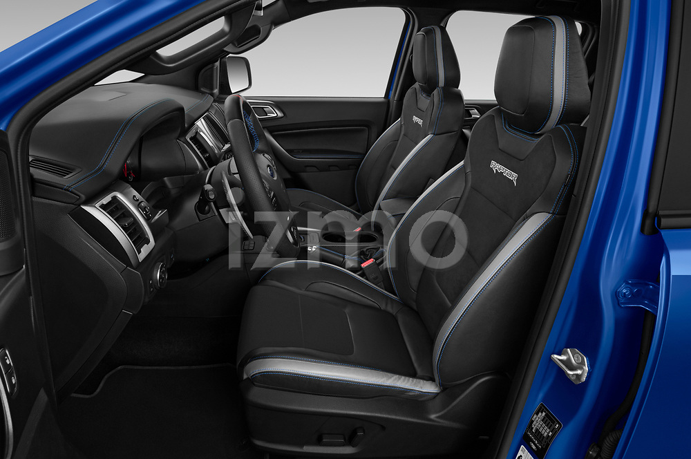 Front seat view of 2019 Ford Ranger-Raptor - 4 Door Pick-up Front Seat  car photos