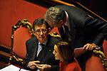 PIERO GIARDA CON ELSA FORNERO E FRANCESCO RUTELLI<br /> PARLAMENTO 2012