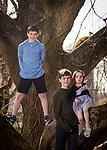 Jake's Mitzvah Family Portraits