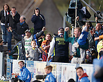 Queen of the South fans celebrate their goal