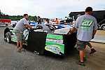 Jul 4, 2009; 6:02:03 PM; Bulls Gap, TN., USA; The Lucas Oil Late Model Dirt Series running a 10,000 to win race at Volunteer Speedway.  Mandatory Credit: (thesportswire.net)