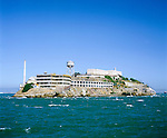 United States of America, California, San Francisco: Isle of Alcatraz | Vereinigte Staaten von Amerika, Kalifornien, San Francisco: die ehemalige Gefaengnisinsel Alcatraz