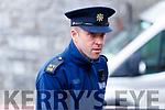 Garda Sean Twomey at Kenmare Court on Friday.