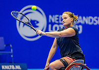 Rotterdam, Netherlands, December 17, 2017, Topsportcentrum, Ned. Loterij NK Tennis, Wheelchair woman's  final: Aniek van Koot (NED) <br /> Photo: Tennisimages/Henk Koster