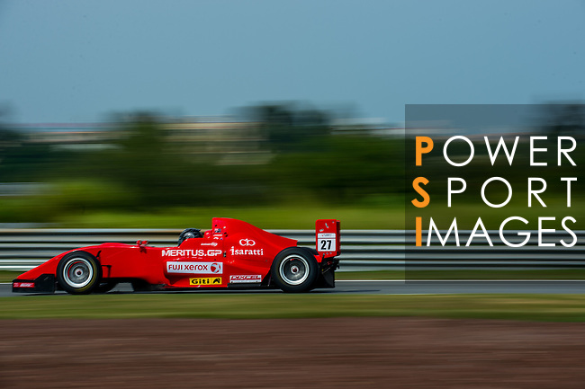 Jake Parson of Australia and Meritus GP  drives during the Formula Masters China Series as part of the 2015 Pan Delta Super Racing Festival at Zhuhai International Circuit on September 20, 2015 in Zhuhai, China.  Photo by Aitor Alcalde/Power Sport Images