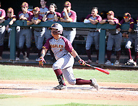 Kenneth Jimenez of Nogales Apaches plays in the Boras Classic of Arizona on March 14, 2020 at Corona Del Sol High School in Tempe, Arizona  (Bill Mitchell)