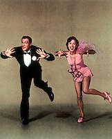 Prod DB © MGM / DR<br /> CHANTONS SOUS LA PLUIE (SINGIN' IN THE RAIN) de Stanley Donen et Gene Kelly 1954 USA avec Gene Kelly et Debbie Reynolds<br /> danse, chorÈgraphie, robe rose<br /> comÈdie musicale MGM<br /> code 1546