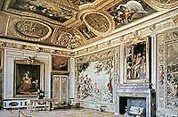 Mars room or Salon de Mars, a room of the Château de Versailles