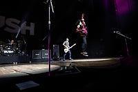 SÃO PAULO, SP 14.02.2019: BUSH-SP - A banda inglesa, Bush, formada por Gavin Rossdale, Chris Traynor, Corey Britz e Robin Goodridge, se apresentou na noite desta quinta (14), no Credicard Hall, zona sul da capital paulista. O show faz parte da Revolución Tour 2019. (Foto: Ale Frata/Codigo19)