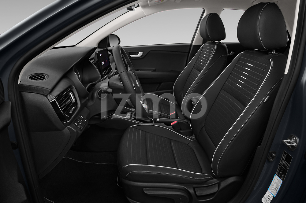 Front seat view of 2021 KIA Rio GT-Line 5 Door Hatchback Front Seat  car photos