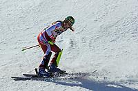 20th February 2021; Cortina d'Ampezzo, Italy; FIS Alpine World Ski Championships, Women's Slalom ;   Katharina Liensberger (AUT) finishes as winner of race