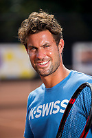 Amstelveen, Netherlands, 10 August 2020, NTC, National Tennis Center, New KNLTB coach Peter Lucassen (NED)  <br /> Photo: Henk Koster/tennisimages.com