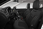 Front seat view of a 2018 Jeep Compass Limited 5 Door SUV front seat car photos