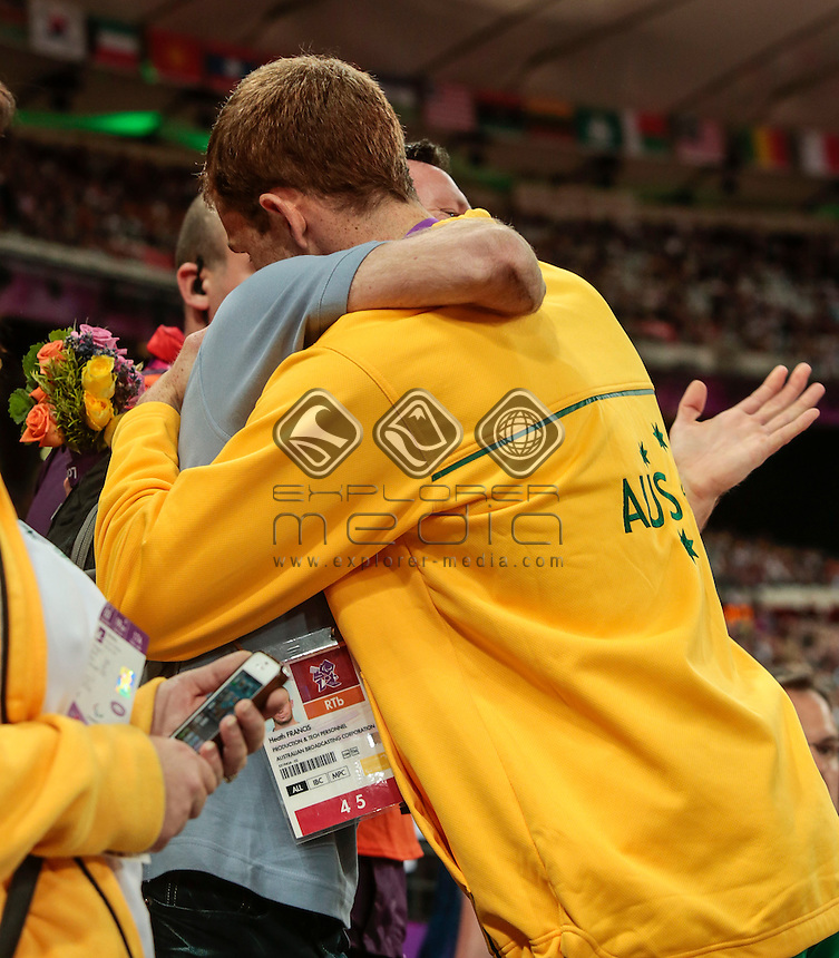Brad Scott AUS Men's 1500m-T37 final, Day05, Athletics (Monday 3rd Sept) - Olympic Stadium, Paralympics - Summer / London 2012, London, England 29 Aug - 9 Sept , © Sport the library/Greg Smith