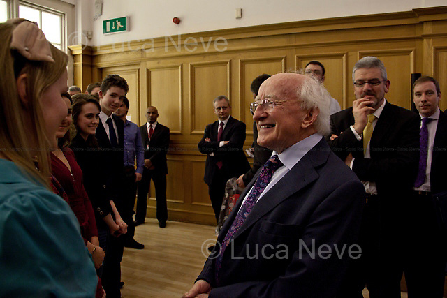 """Michael D. Higgins, President of Ireland.<br /> <br /> For more pictures on this event click here: <a href=""""http://bit.ly/PP7OxO""""> http://bit.ly/PP7OxO</a>"""