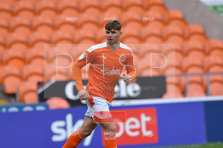 09/05/2021 Sky Bet League 1 Blackpool v Bristol Rovers  <br /> <br /> Brad Holmes full home debut