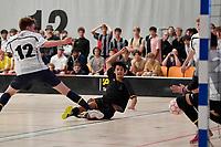 Daniel Fuller of Wellington College during the NZ Secondary Schools Senior Boys Final between Wellington College and Tauranga Boys' College at ASB Sports Centre, Wellington on 26 March 2021.<br /> Copyright photo: Masanori Udagawa /  www.photosport.nz