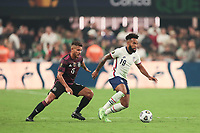 LAS VEGAS, NV - AUGUST 1: Eryk Williamson #19 of the United States during a game between Mexico and USMNT at Allegiant Stadium on August 1, 2021 in Las Vegas, Nevada.