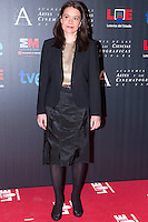 28/01/2012. Real Casa de Correos. Madrid. Spain. Goya Awards Nominated Gala 2012. Susana de las Heras