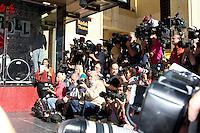 LOS ANGELES - NOV 15:  Atmosphere Press at the Hollywood Walk of Fame Star Ceremony for Christina Aguilera at Hard Rock Cafe Sidewalk, Hollywood & Highland on November 15, 2010 in Los Angeles, CA
