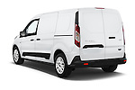 Car pictures of rear three quarter view of a 2015 Ford Transit Connect XLT 4 Door Car Van Angular Rear
