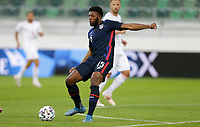 ST. GALLEN, SWITZERLAND - MAY 30: Mark McKenzie #15 of the United States during a game between Switzerland and USMNT at Kybunpark on May 30, 2021 in St. Gallen, Switzerland.