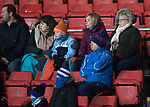 St Johnstone v Kilmarnock…02.12.17…  McDiarmid Park…  SPFL<br />Cold fans in the family stand<br />Picture by Graeme Hart. <br />Copyright Perthshire Picture Agency<br />Tel: 01738 623350  Mobile: 07990 594431