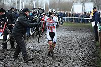 WIELRENNEN: SURHUISTERVEEN: 14-01-2018, NK Veldrijden, ©foto Martin de Jong