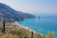 Agios Gordios at Corfu, Greece