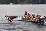 Rowing, Seattle, Sammamish Rowing Association , Junior women's eight, workout, Lake Union, Washington State, spring, 2012,