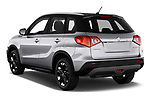 Car pictures of rear three quarter view of a 2018 Suzuki Vitara GLX  S 5 Door SUV angular rear